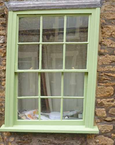 Bruton Somerset sash window repairs after